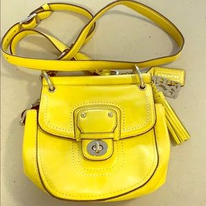 Coach side purse